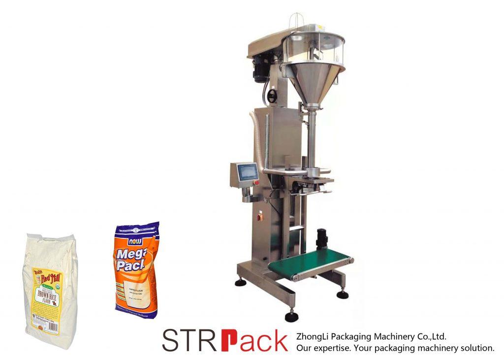 Online Tartı ile Burgu Toz Dolum Makinesi