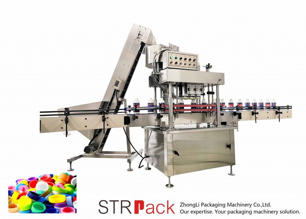 Otomatik Doğrusal Kapak Kapatma Makinası
