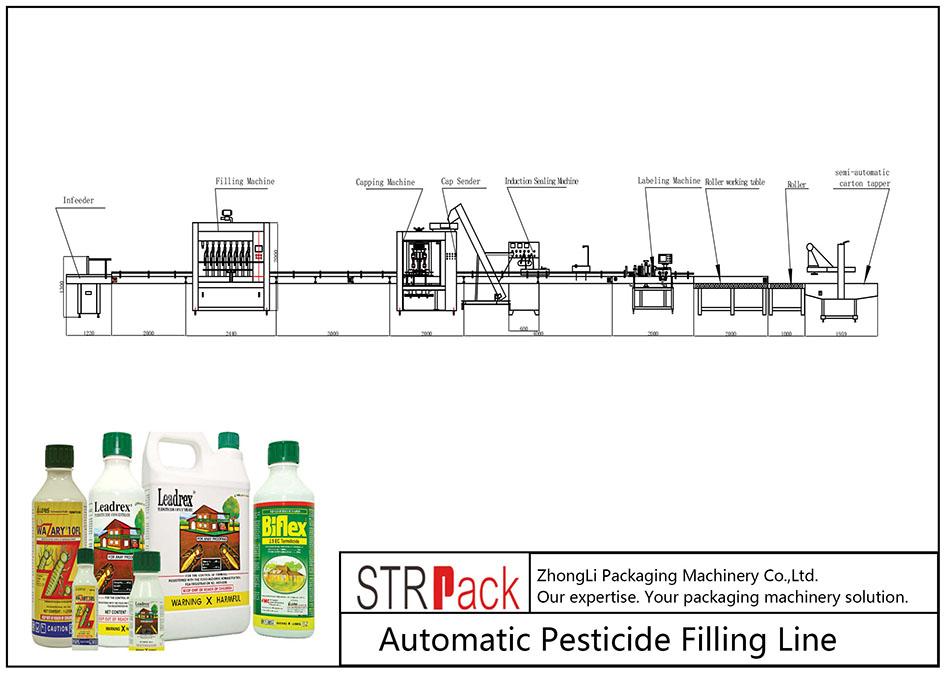 Otomatik Pestisit Dolum Hattı