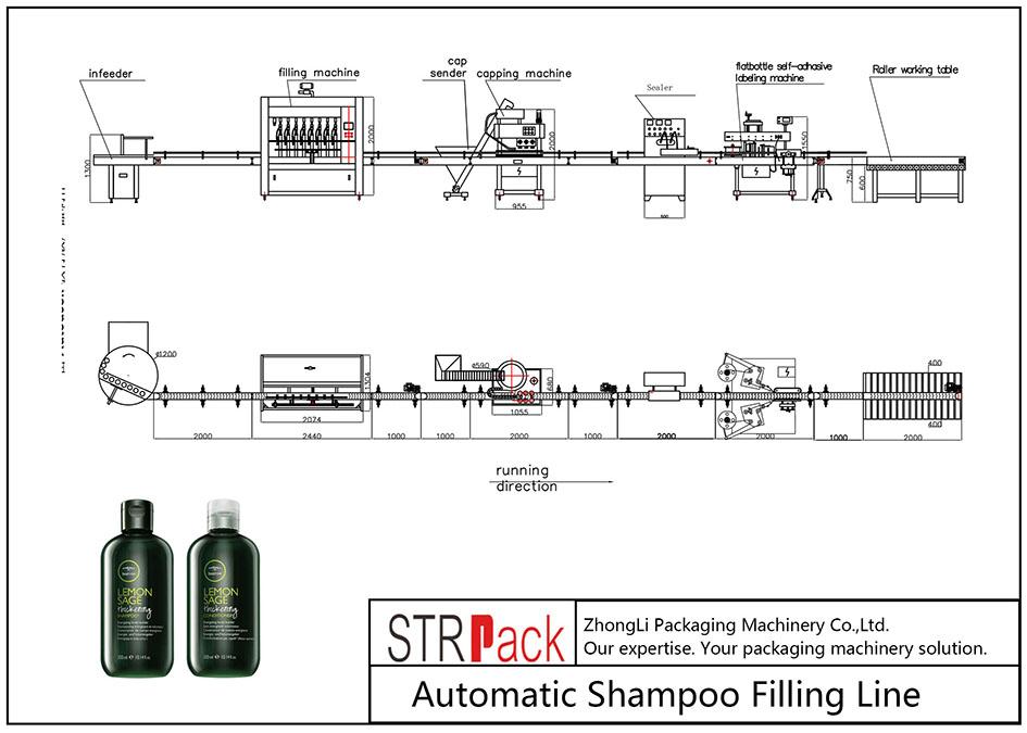 Otomatik Şampuan Dolum Hattı