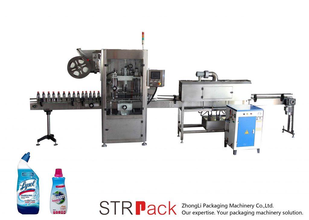 Otomatik Shrink Sleeve Etiketleme Makinası