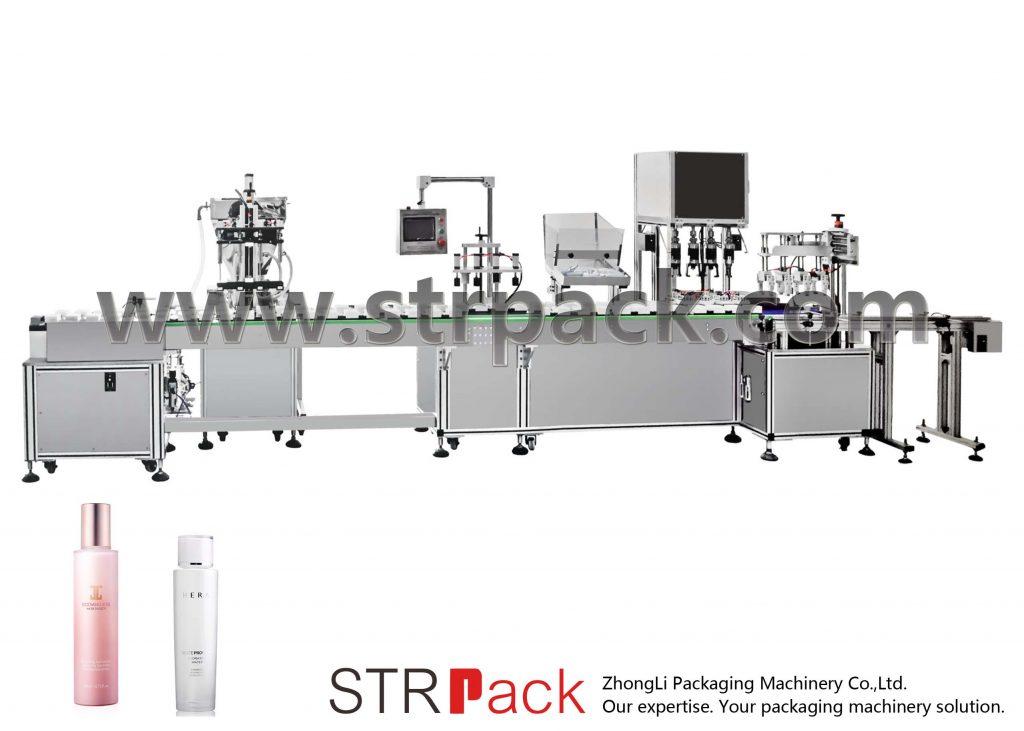 Otomatik Su Emülsiyon Dolum ve Kapatma Makinası