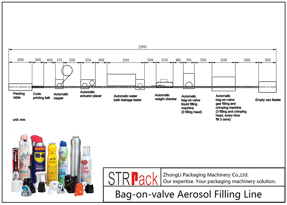 Otomatik Valfli Torba Aerosol Dolum Makinesi