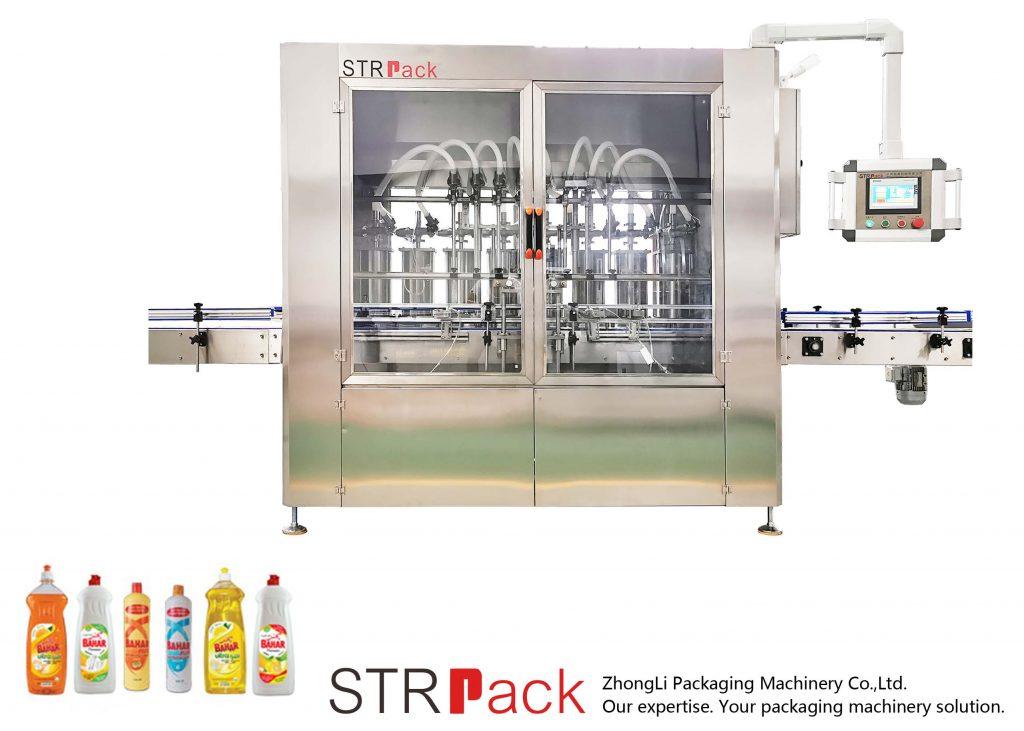 Otomatik Pistonlu Sıvı Dolum Makinesi