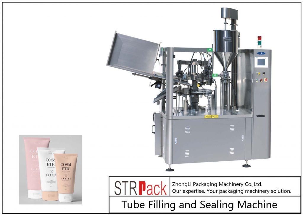 SFS-100 Plastik Tüp Dolum ve Kapama Makinesi