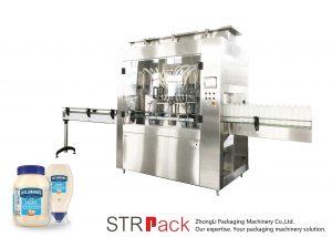 STRRP Rotorlu Pompa Dolum Makinesi