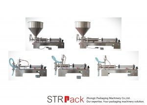 Yarı Otomatik Pistonlu Sıvı Dolum Makinesi