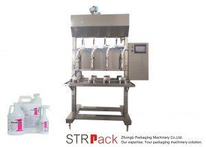 Yarı Otomatik Zaman Yerçekimi Sıvı Dolum Makinesi